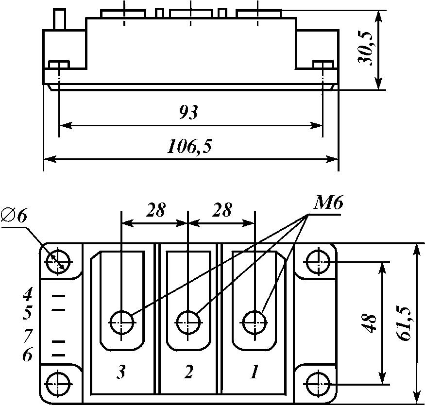 полумостовой модуль