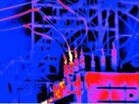 Тепловизионная диагностика высоковольтных вводов