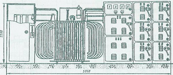 устройства (6 или 10 кВ),