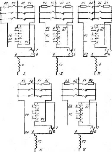 Регулирование напряжения устройством РПН